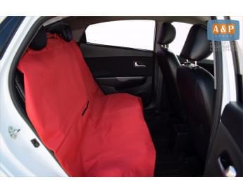 Накидка на заднее сиденье автомобиля для перевозки собак и грузов.