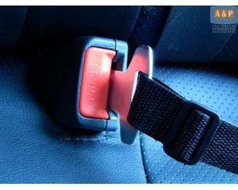 Система крепления дна автогамака в замки ремней безопасности
