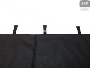 Система крепления дна автогамака за спинку сиденья автомобиля