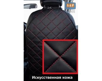 Накидка (чехол) на спинку автомобильного сиденья. Искусственная кожа.