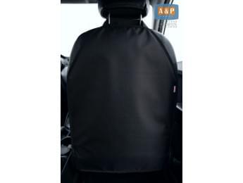 Защитная накидка (чехол) на спинку автомобильного сиденья. Цвет: черный.