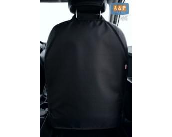 Накидка (чехол) на спинку автомобильного сиденья.