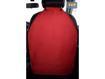 Защитная накидка (чехол) на спинку автомобильного сиденья. Цвет: красный.