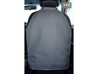 Защитная накидка (чехол) на спинку автомобильного сиденья. Цвет: серый.