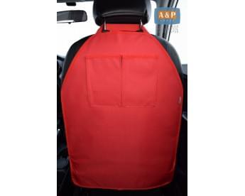 Защитная накидка (чехол) на спинку автомобильного сиденья с карманами.