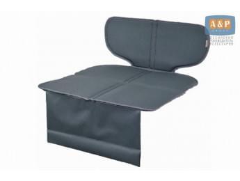 Защитный коврик (накидка) под детское автокресло-бустер. Цвет: серый.