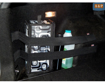 Комплект из 2-х багажных ременей (багажный карман, липучки в багажник) для ворса.