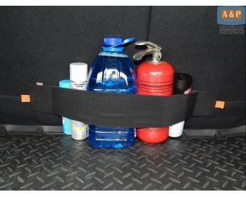 Багажный ремень (багажный карман, липучки в багажник) Maxi (Макси) для ворса.