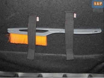 Багажные ремни (багажный карман, липучки в багажник) Mini (Мини) для ворса, 2 шт. в упаковке.