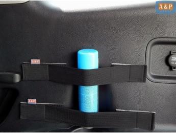 Багажные ремни (багажный карман, липучки в багажник) Mini (Мини) для пластика, 2 шт. в упаковке.