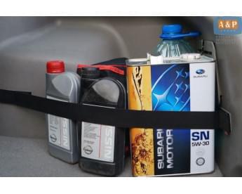 Багажный ремень (багажный карман, липучки в багажник) для пластиковой поверхности.