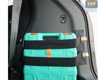 """Багажный ремень (багажный карман, липучки в багажник) """"Вертикаль"""" для пластиковой поверхности."""